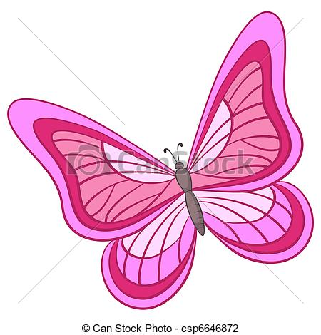 Colouful clipart butterfly wing #12