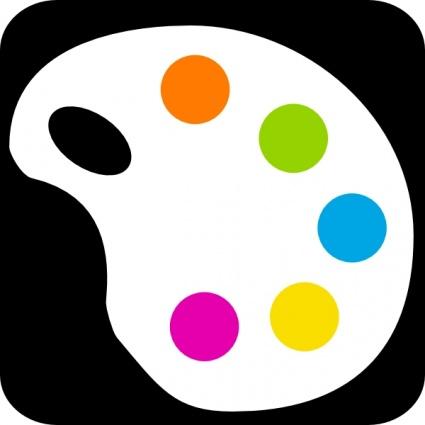 Color clipart Art%20palette%20clipart%20black%20and%20white Color Clipart Panda Clipart