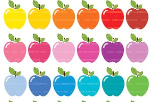 Apple clipart colorful Themes Colors Apple Apple
