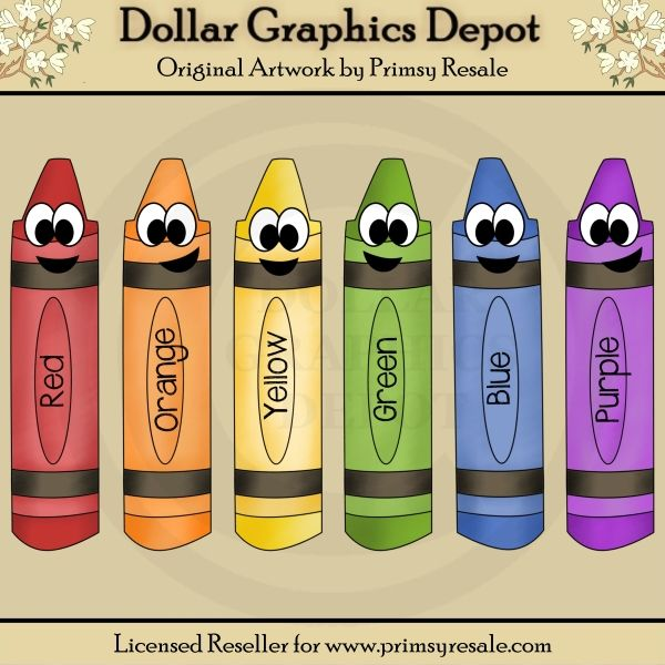 Crayon clipart face Art Great File images by