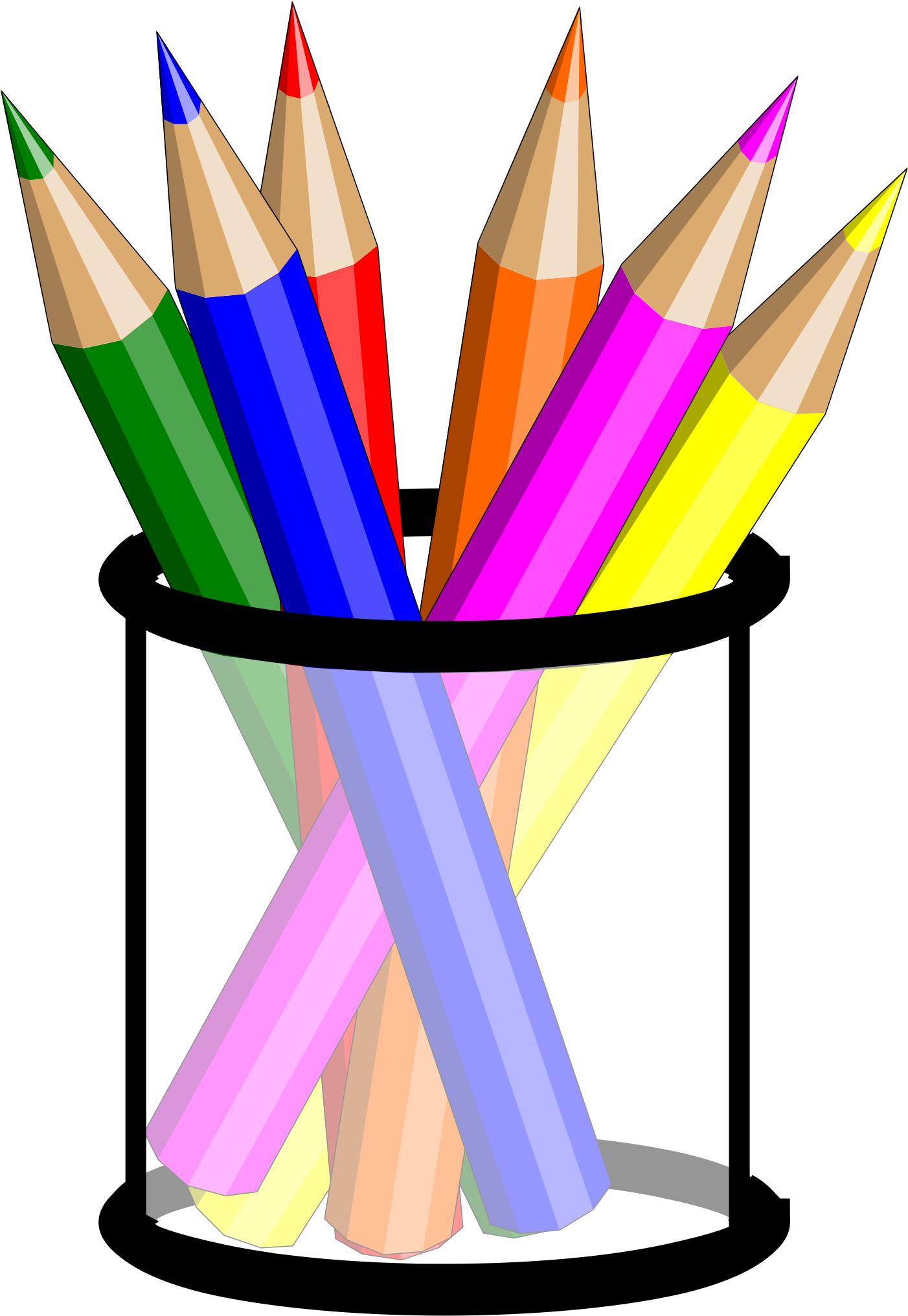 Iiii clipart pencil IMAGE Clipart Pencil BIG Cup