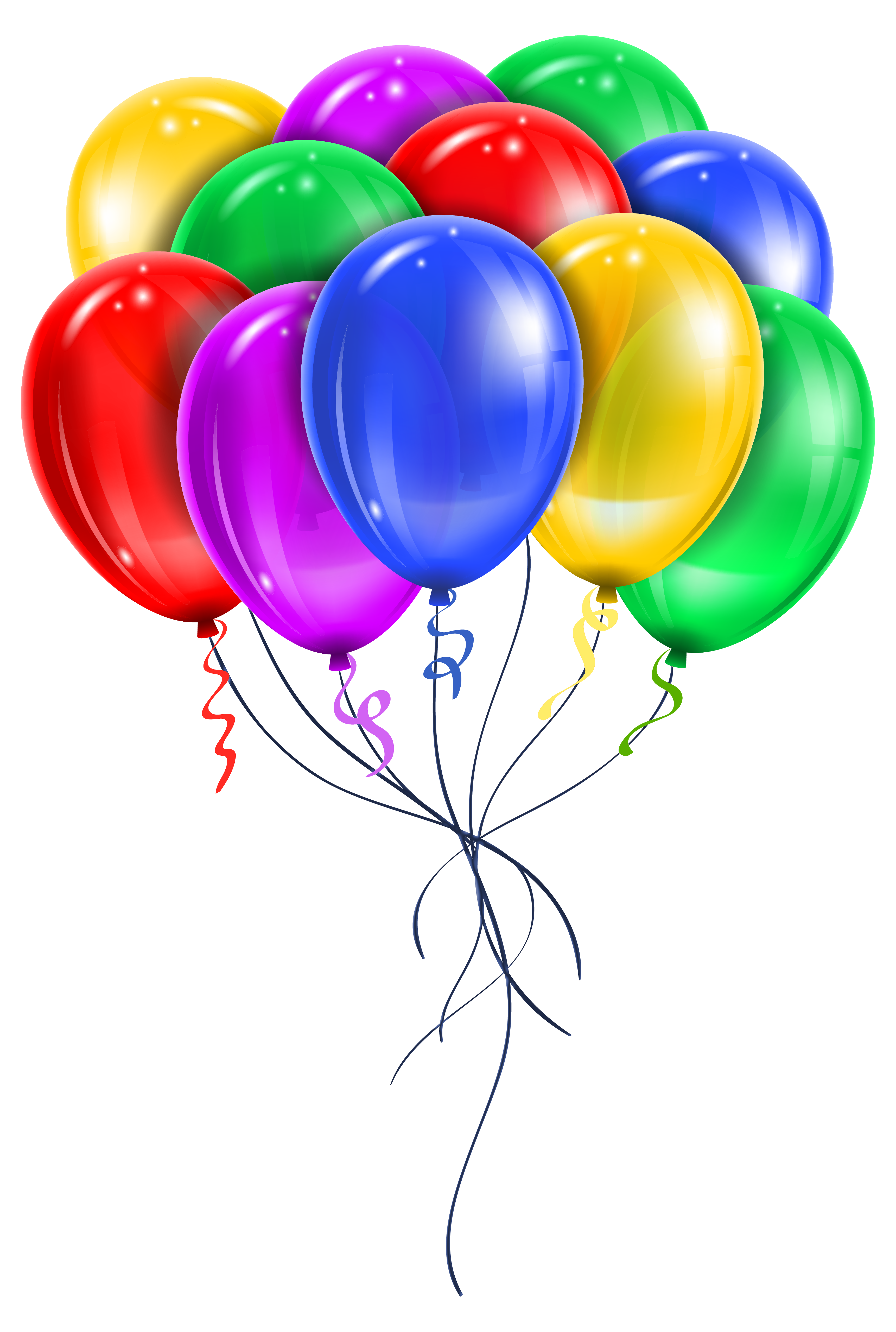 Color clipart balloon On Picture Art Transparent Multi