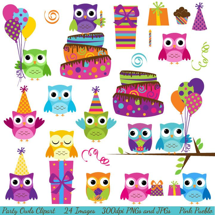 Owlet clipart sport Party Cute Clipart Commercial Personal