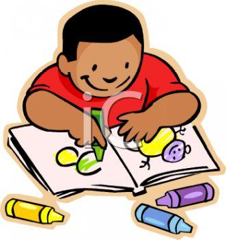 Color clipart boy coloring Clipart Art Coloring Coloring School
