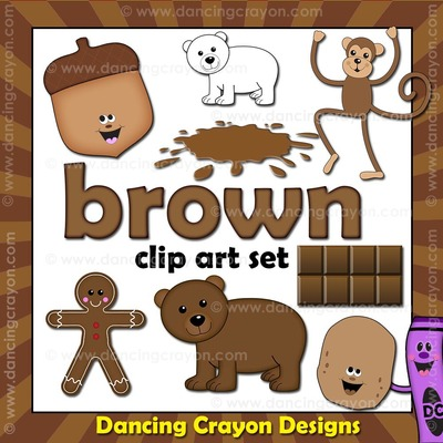 Color clipart brown color Brown Brown that color Things