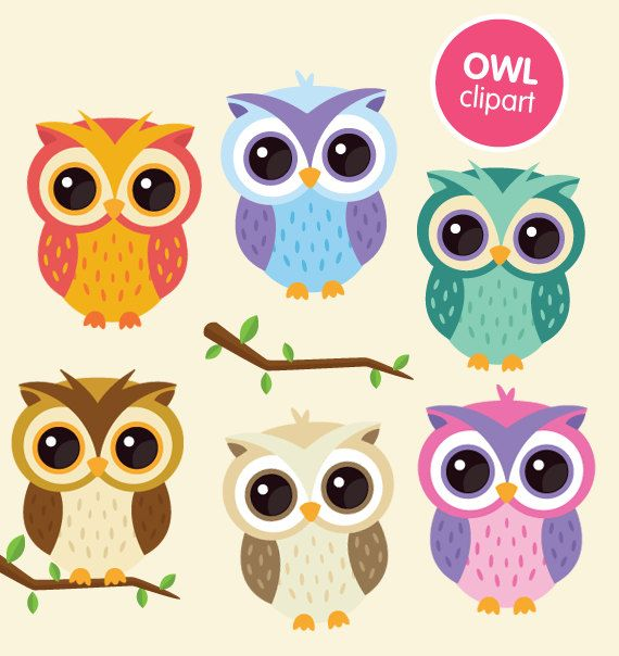 Drawn owl kawaii Owl clipart ColorPlanet cartoon clip