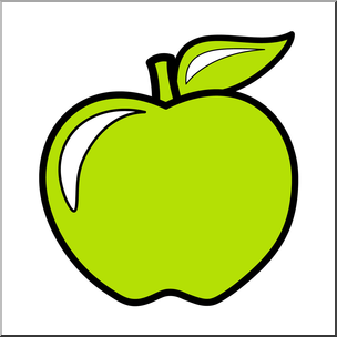 Colouful clipart apple #12