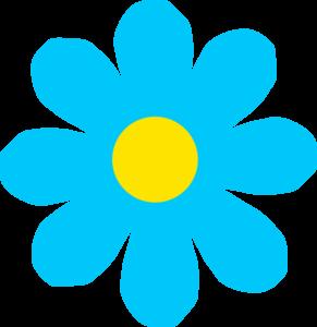 Light Blue clipart blue color Color Color Flowers Flowers Clipart