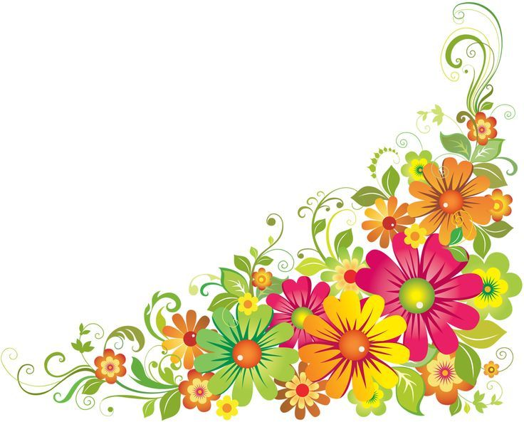 Color clipart colourful flower 25+ clipart free and Pinterest
