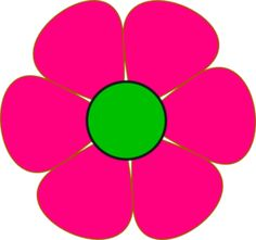 Color clipart colourful flower Clipart flowers colorful