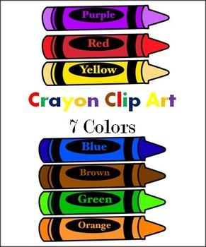 Crayon clipart color crayon Colorful art Clip clipart Clipartix