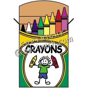 Box clipart coloring Clipart Coloring Art Crayola Clip