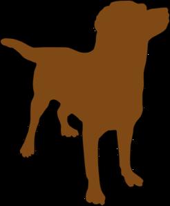 Animl clipart brown dog #14