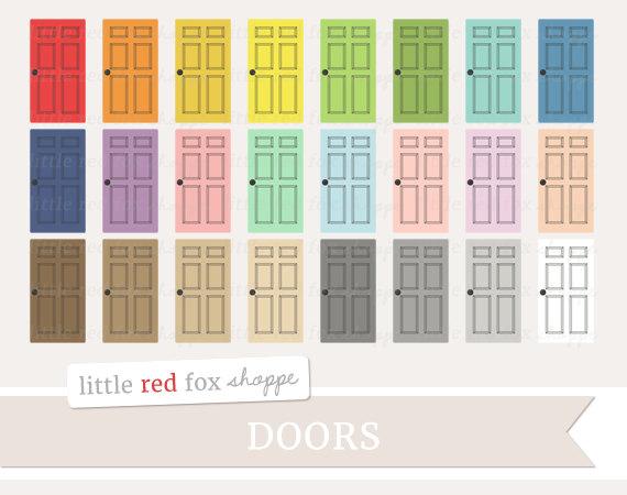 Door clipart bedroom door Bedroom Clip Room Art Home