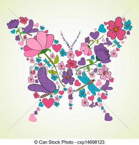 Beautiful clipart flower butterfly Flowers flowers butterfly Beautiful