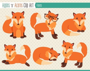 Color clipart fox Clip art and Foxes color