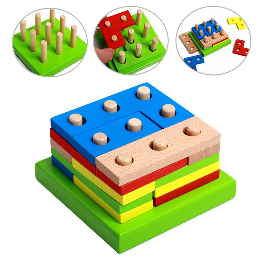 Color clipart geometric shape Building Shapes Assembled Kids Wholesale