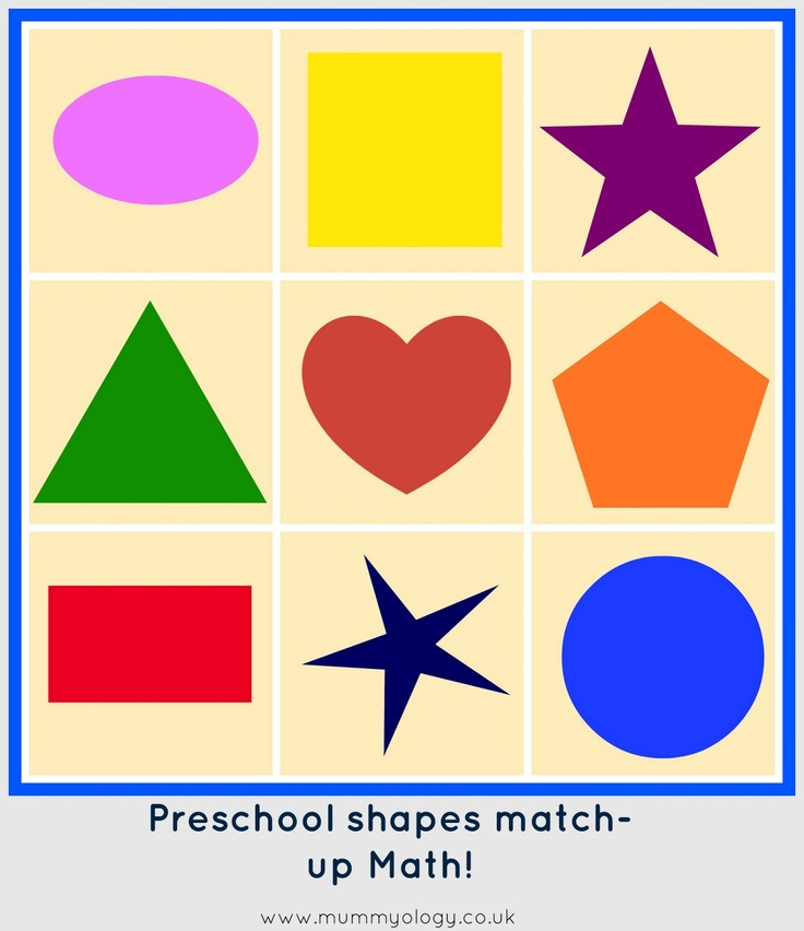 Color clipart geometric shape On Pinterest and best Storytime