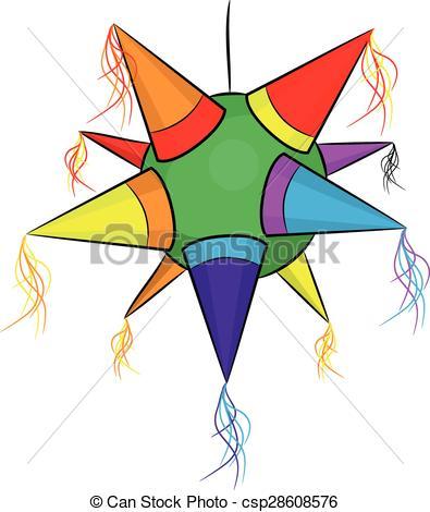 Stars clipart pinata Shape of pinata pinata star