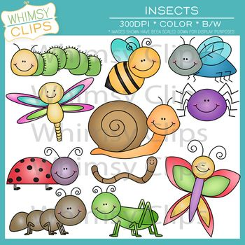 Bug clipart whimsical 43 Pinterest on Art on