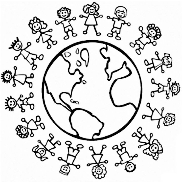 Drawn child Pinterest Josee around world around