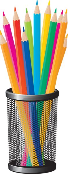 Pencil clipart container автор Clipart Фотках Crayons Clip