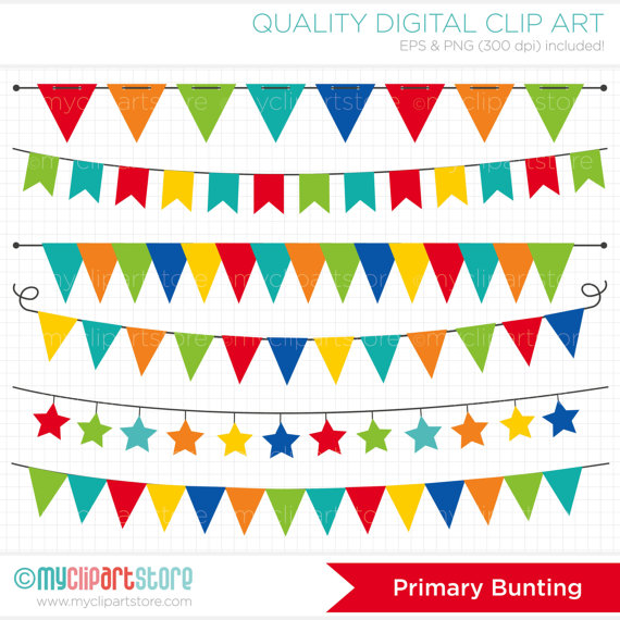 Color clipart banner / School Primary Clip to