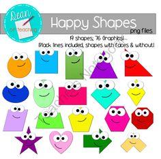 Color clipart shape TeachersNotebook Shapes: FREE art Art