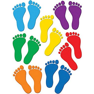 Footprint clipart floor Grades Resources® Accents Toddler Teacher