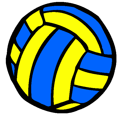 Blue clipart volleyball Ball download Pin Volleyball To