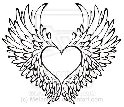 Drawn heart lipstick Best Pinterest 25+ wings on