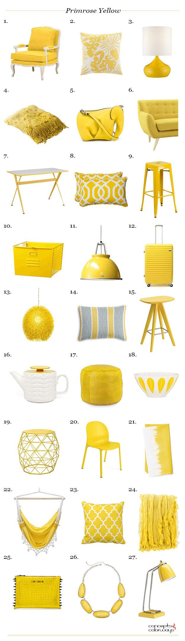 Bright clipart yellow thing Painting YELLOW Best Pinterest