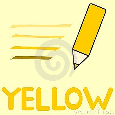 Crayon clipart color yellow Yellow Color suggest Clipart Yellow