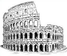 Colosseum clipart italian food The Free Clipart colosseum Colosseum