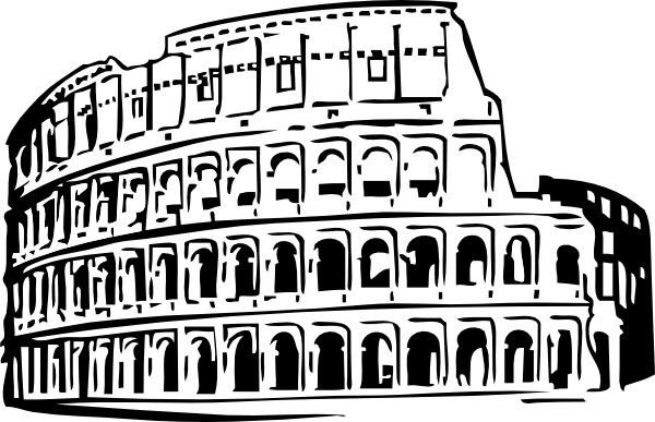 Rome clipart drawing Office art in svg