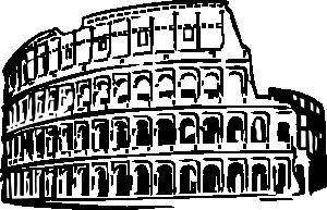 Colosseum clipart cartoon Art Art at online clip
