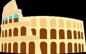 Colosseum clipart cartoon Coliseum Clker com  online