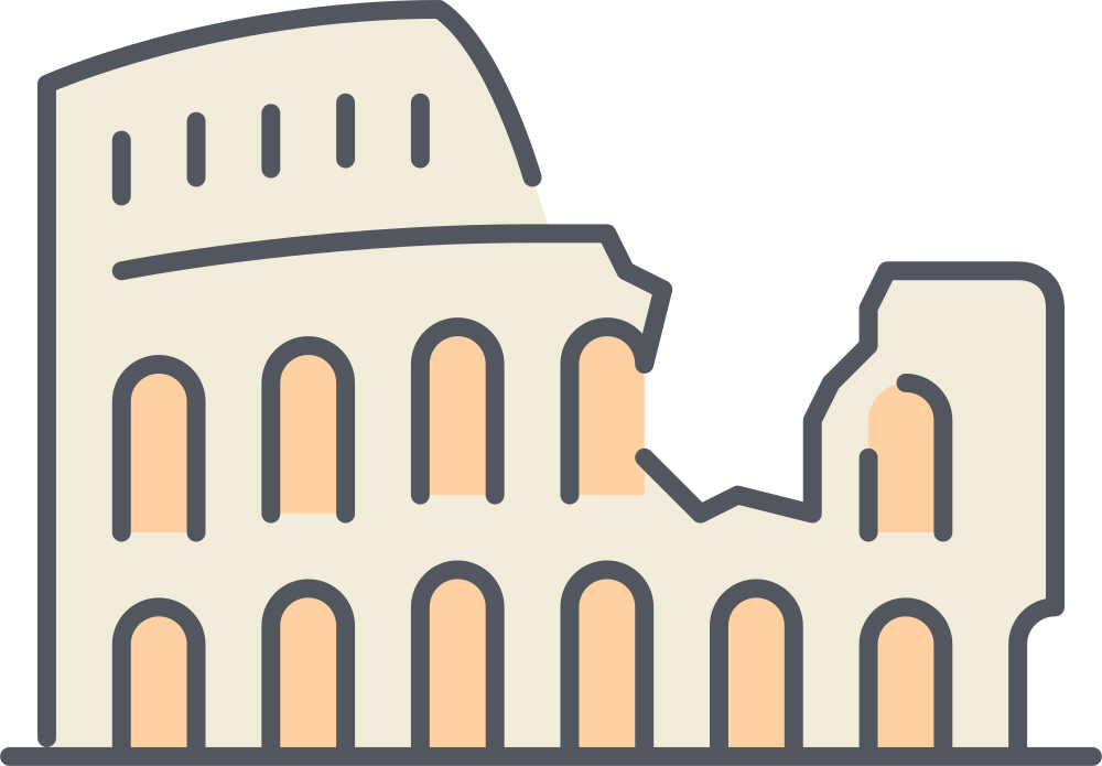 Colosseum clipart wonders the world 7 An — Wonders
