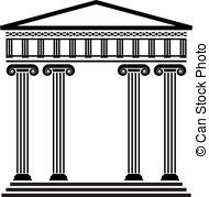 Columns clipart Clipart Column 24 Column 594