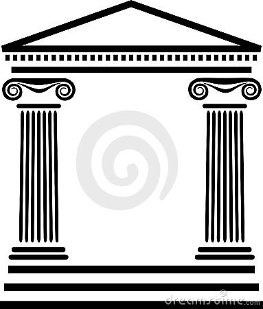 Architecture clipart greek column Column Gallery Pillar Roman Roman
