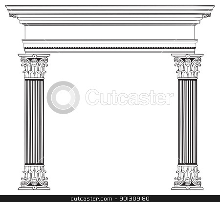Architecture clipart greek column Clipart Download Gothic Columns Columns