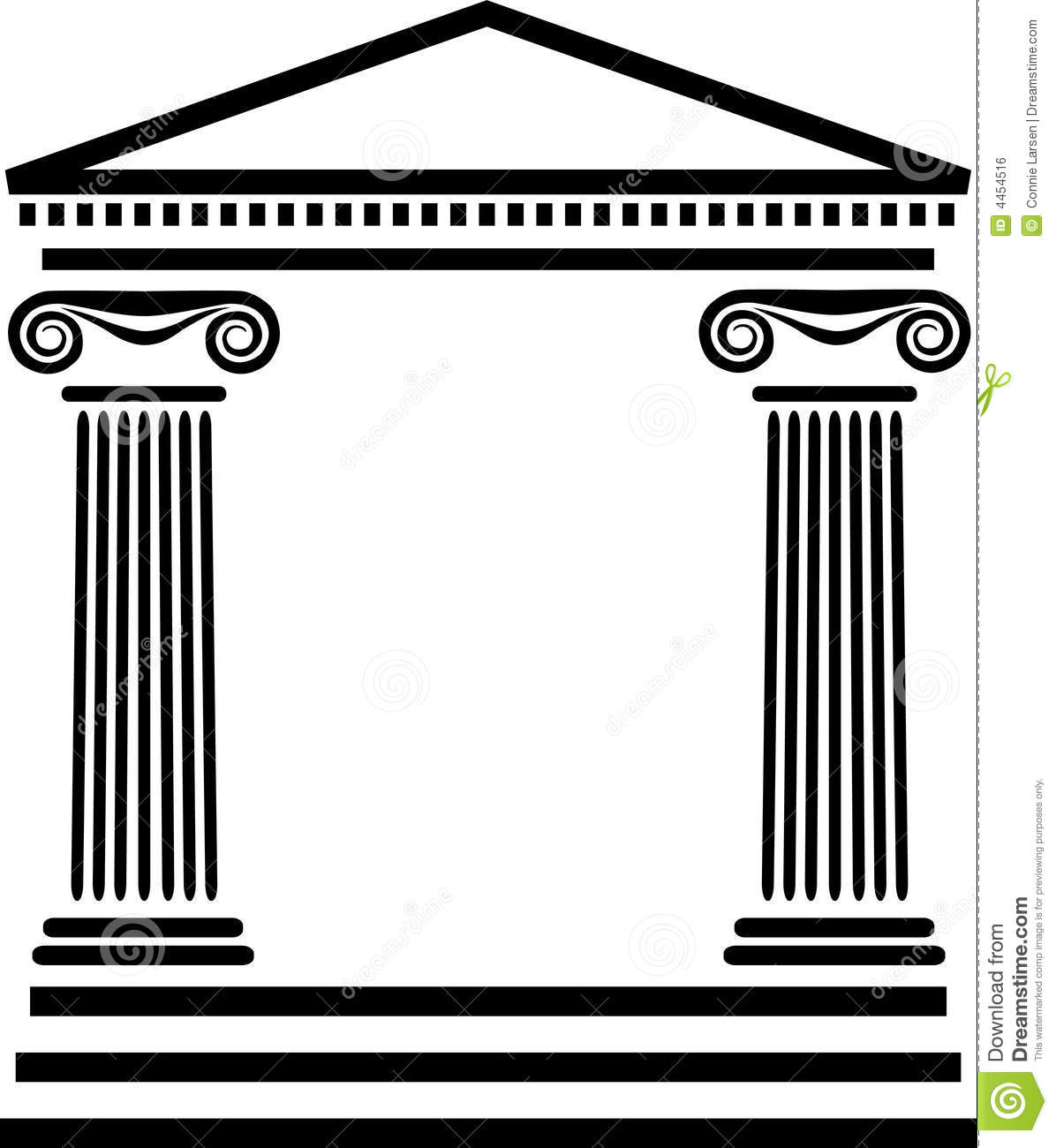 Architecture clipart greek column Columns 6th Roman Greek columns