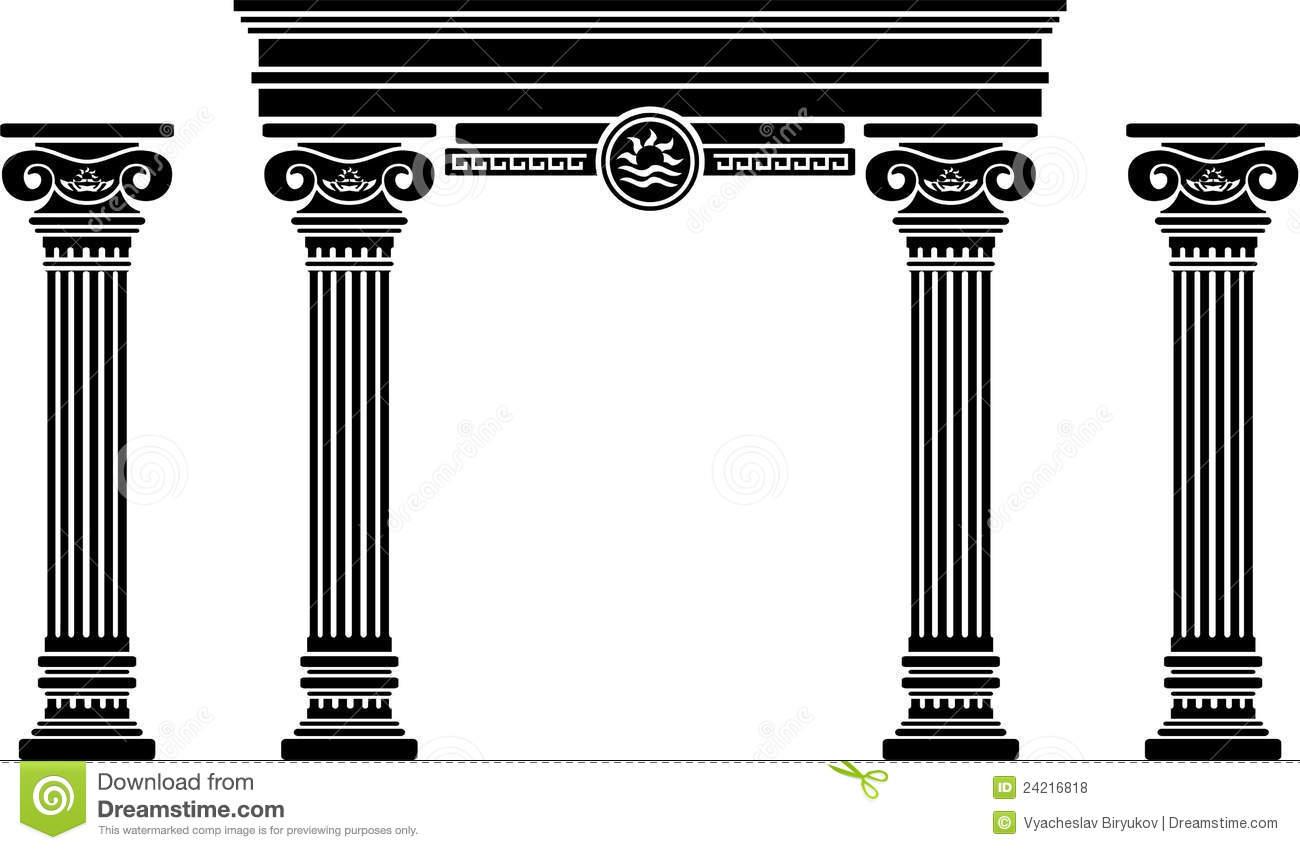 Columns clipart Clipart  Columns Roman