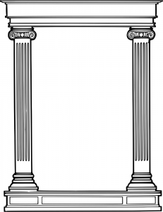 Columns clipart #2