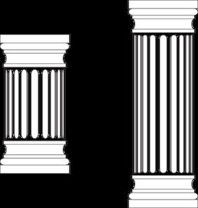 Columns clipart Art Clip  art Marble