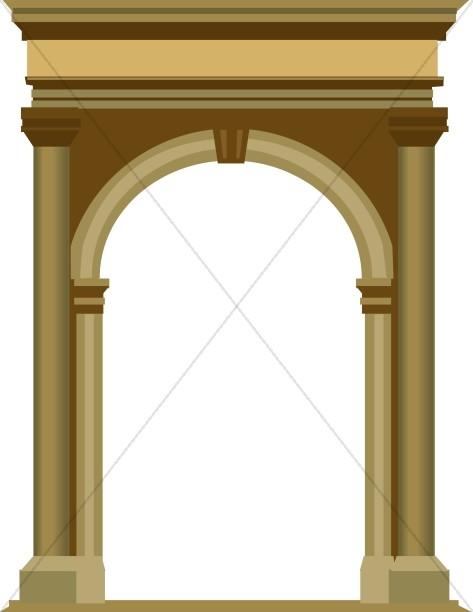 Architecture clipart roman Gates City Roman the to