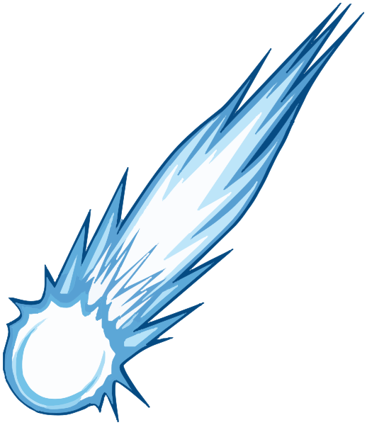 Blue clipart comet Png download: comet Available html