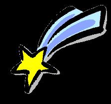 Comet clipart #14