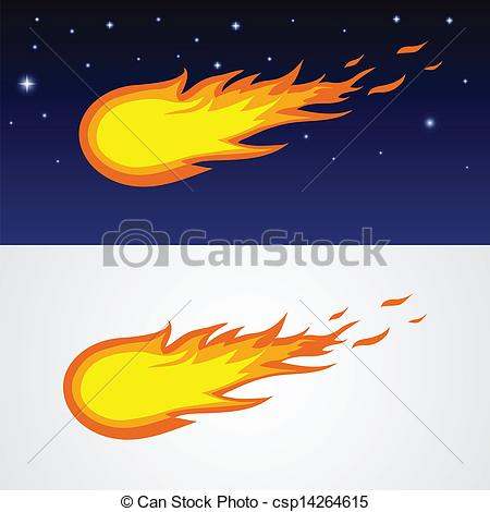 Comet clipart cartoon Csp14264615 Vector caricature Search of