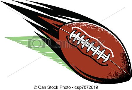Comet clipart vector A field and Football Football